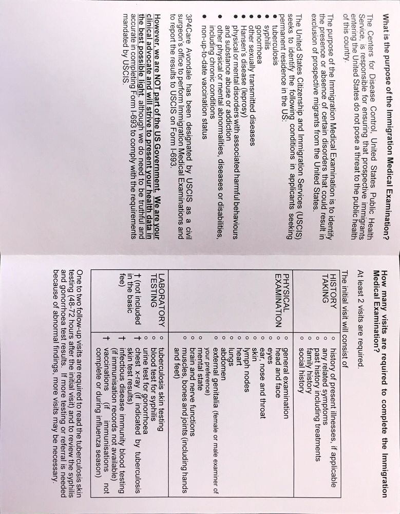 Uscis Civil Surgeon Form Image Collections Free Form Design Examples