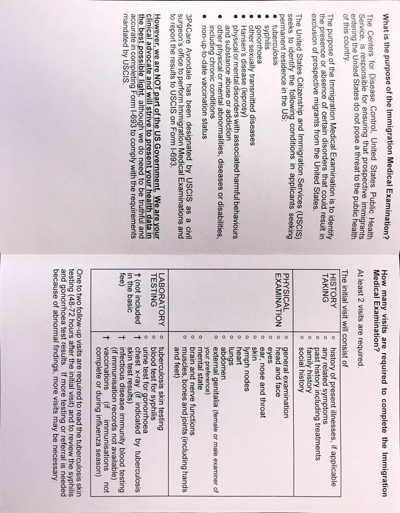 Uscis Medical Exam Form Choice Image Free Form Design Examples