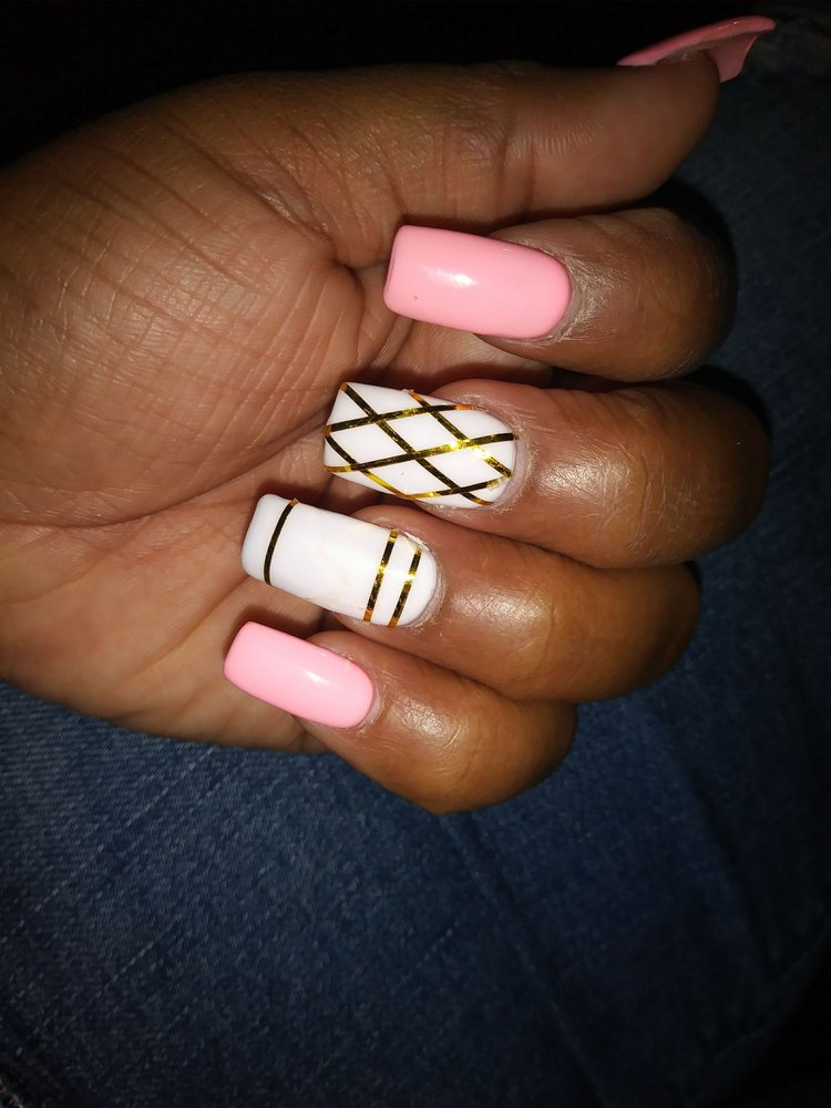 The only nail shop I go to Sony does my nails great everytime - Yelp
