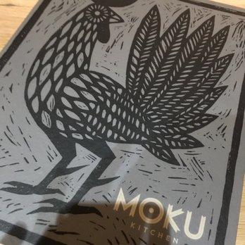 Moku Kitchen Honolulu Menu