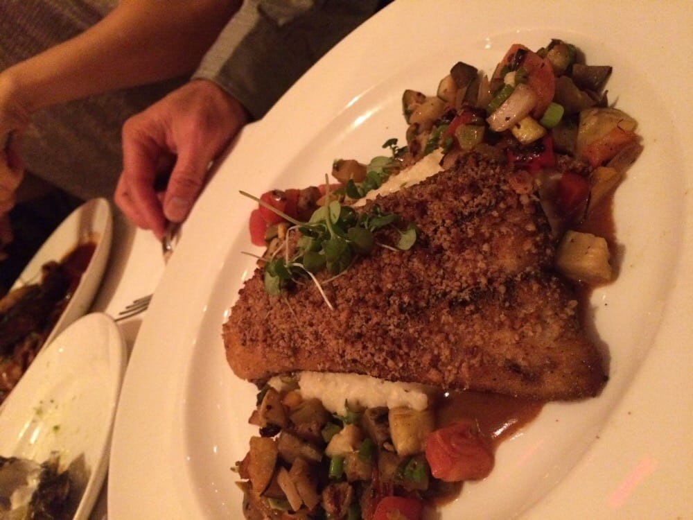 Pecan crusted texas redfish yelp for New orleans fish house