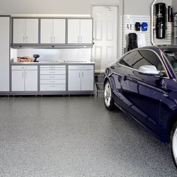 Photo Of Garage Living   Vaughan, ON, Canada. Garage Cabinetry And Garage  Flooring ...