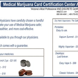 Photo of Medical Marijuana Card Arizona Center - Scottsdale, AZ, United States. Safe