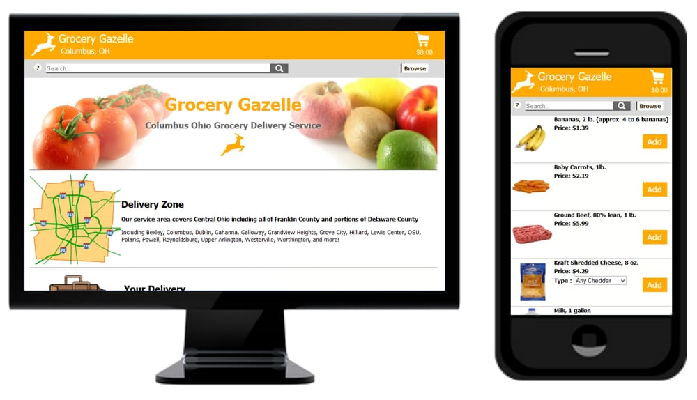 Grocery Gazelle: 520-B S State, Westerville, OH