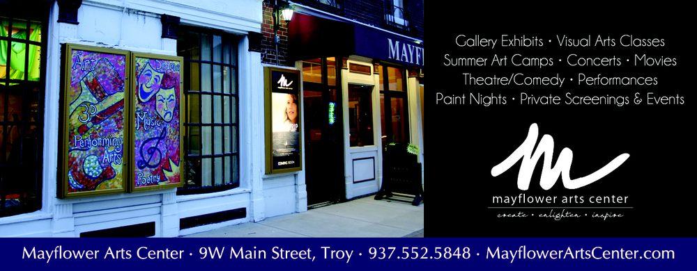 Mayflower Arts Center: 9 W Main St, Troy, OH