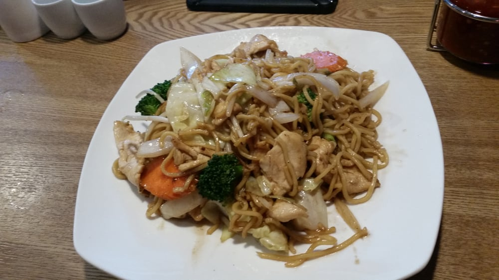 Chicken chow mein yelp for Aroma thai cuisine