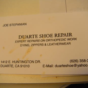 Shoe Repair Duarte Ca