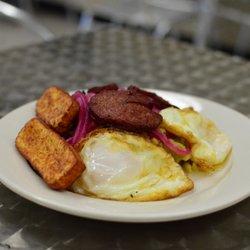 Photo Of Latin Cuisine Restaurant Fayetteville Nc United States Mangu Tres Golpes