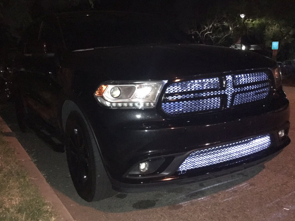 Photo Of Audio Vision Montclair Ca United States 2016 Dodge Durango Blacked