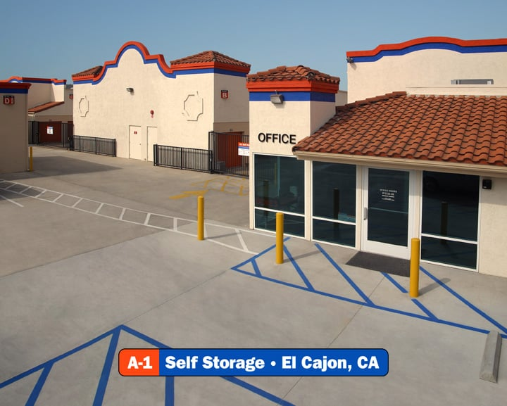 A-1 Self Storage: 1370 N Magnolia Ave, El Cajon, CA