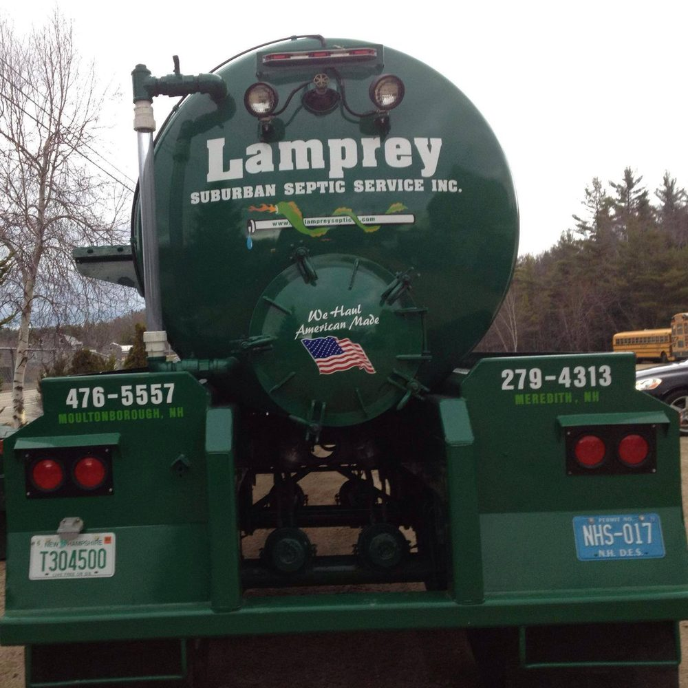 Lamprey Suburban Septic Service: 1003 Whittier Hwy, Moultonborough, NH