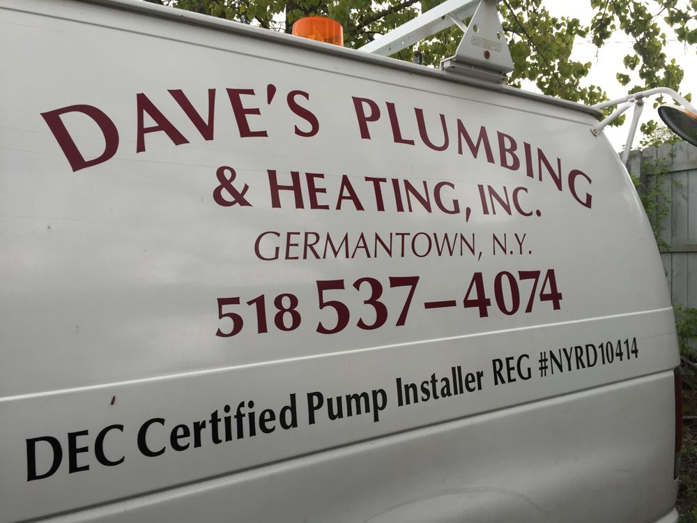 Dave's Plumbing and Heating: 75 Palatine Park Rd, Germantown, NY