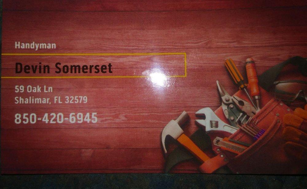 Devin Somerset Handyman: 59 Oak Ln, Shalimar, FL
