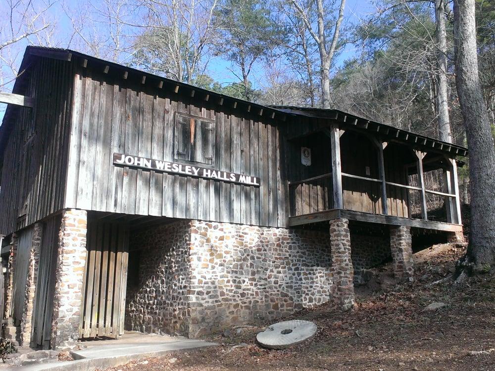 John Wesley Hall Grist Mill: McCalla, AL