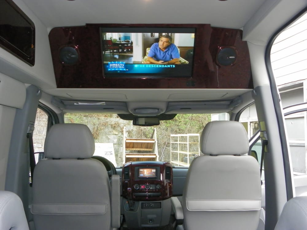 Sprinter Van With Front And Rear A V System Navigation And
