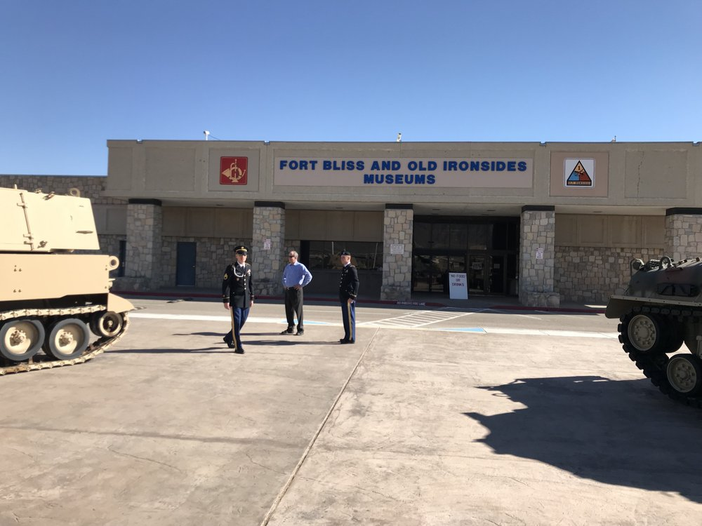 Fort Bliss and Old Ironsides Museums: 1735 Marshall Rd, El Paso, TX