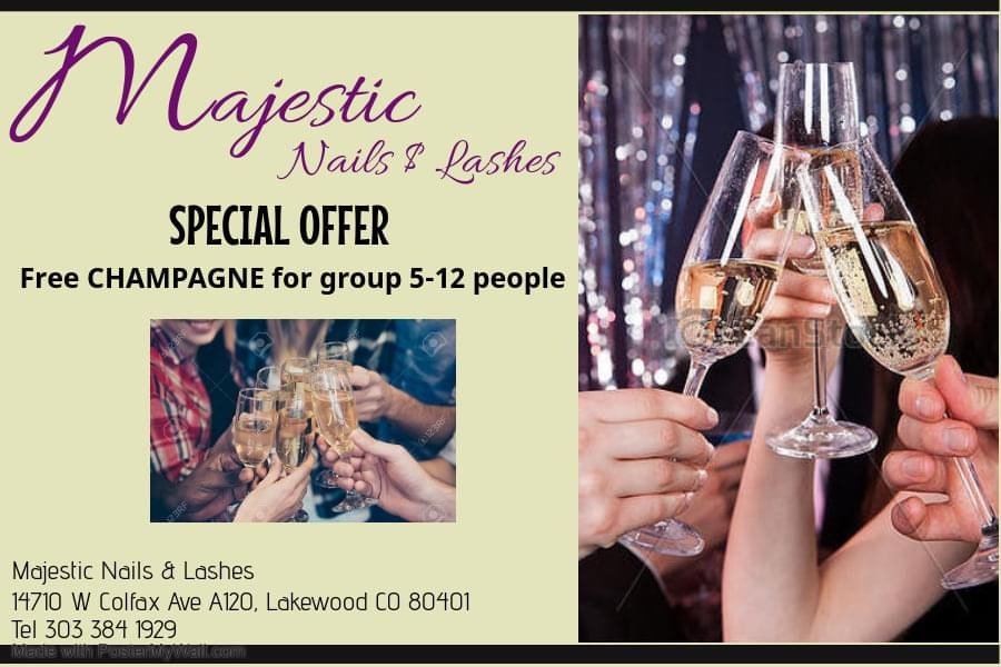 Majestic Nails & Lashes: 14710 W Colfax Ave, Lakewood, CO