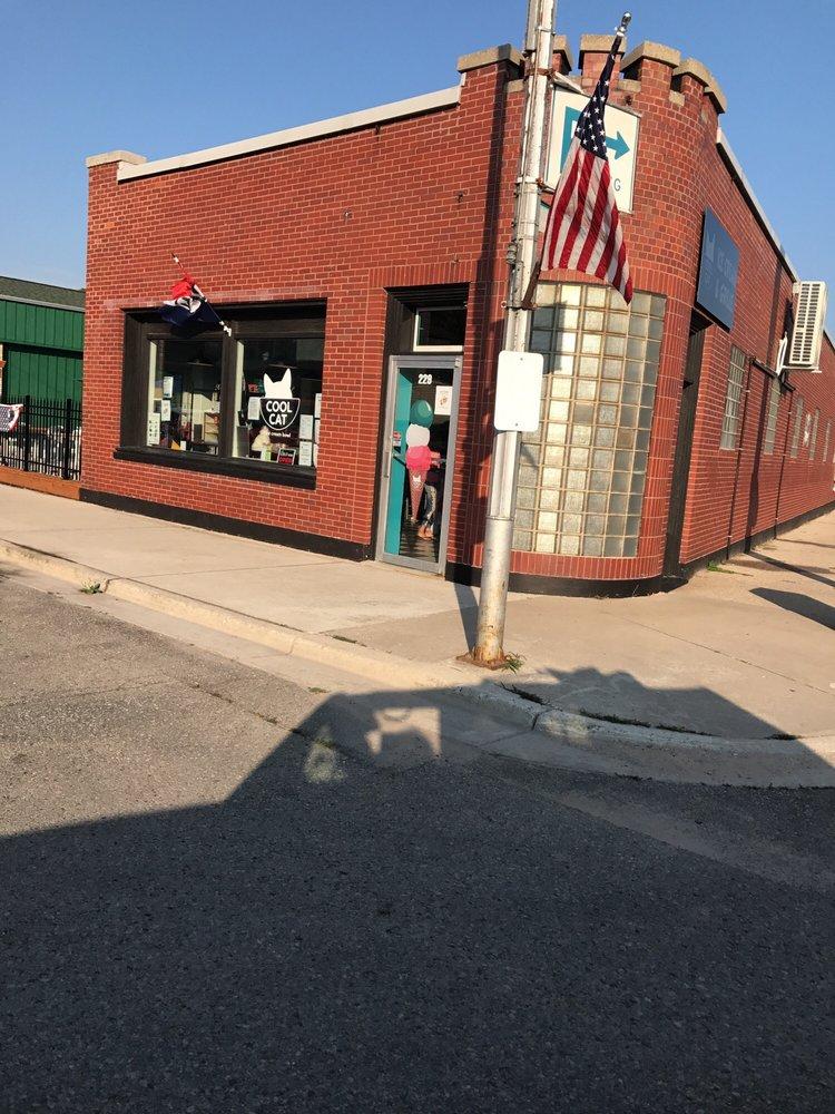 Cool Cat Ice Cream Bowl: 229 S Benzie Blvd, Beulah, MI
