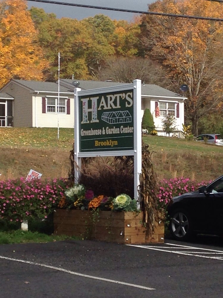 Hart's Farm Greenhouse & Florist: 151 Providence Rd, Brooklyn, CT