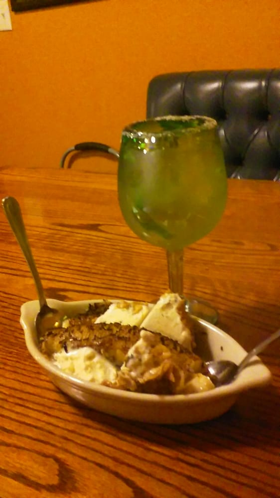 Fried Ice Cream And Cadillac Margaritha Yelp