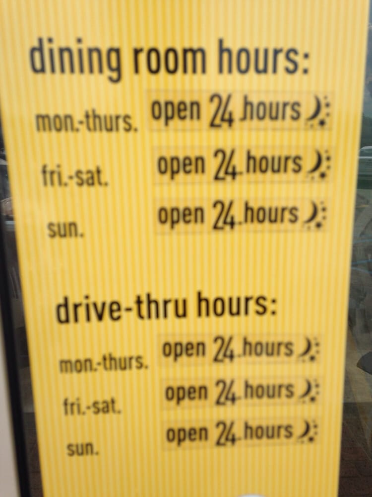 Mcdonalds Hyde Park Dining Room Hours Decor