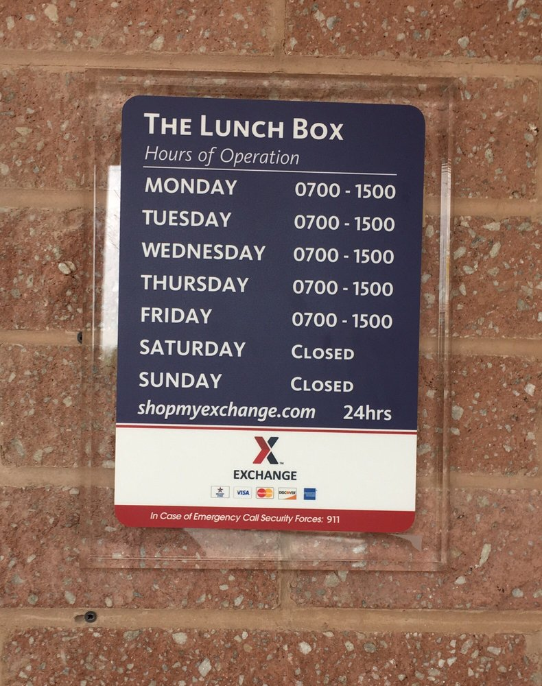 The Lunch Box Deli & Treats: 2401 Chesapeake Dr, Aberdeen Proving Ground, MD