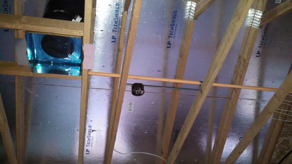 Radiant barrier sheathing - lowering attic temperatures! - Yelp