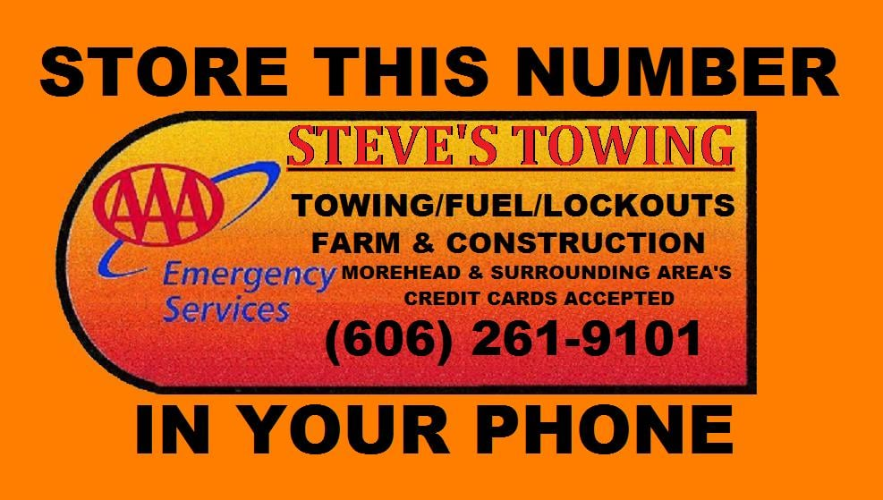 Steve's Towing 24 Hour Service