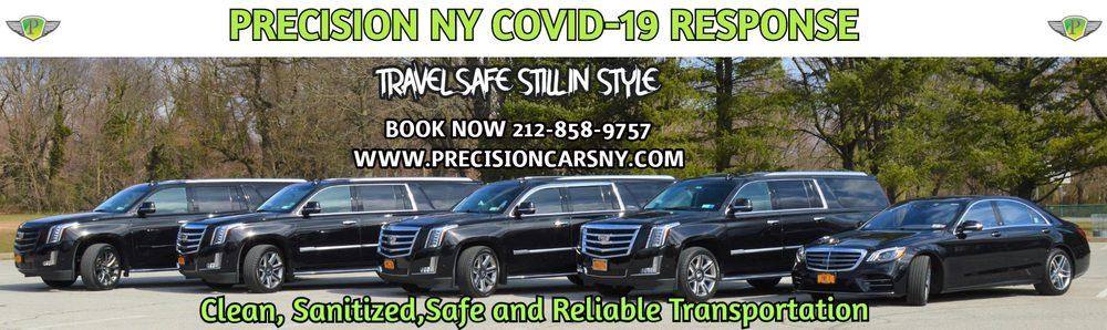 Precision NY Chauffeur & Airport Transportation Service: 630 5th Ave, New York, NY