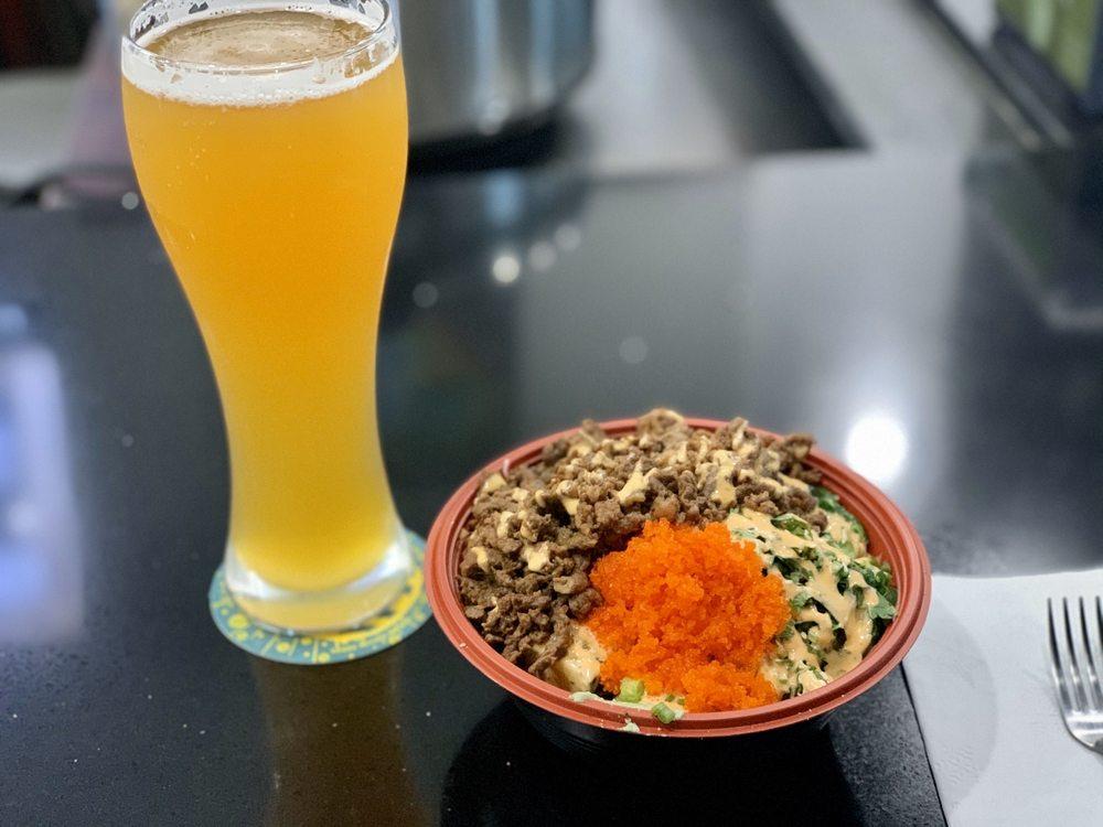 Food from Terracotta Poke Restaurant
