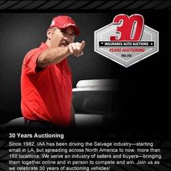 iaa vehicle purchasing - auction houses - 16602 e hardy rd, houston