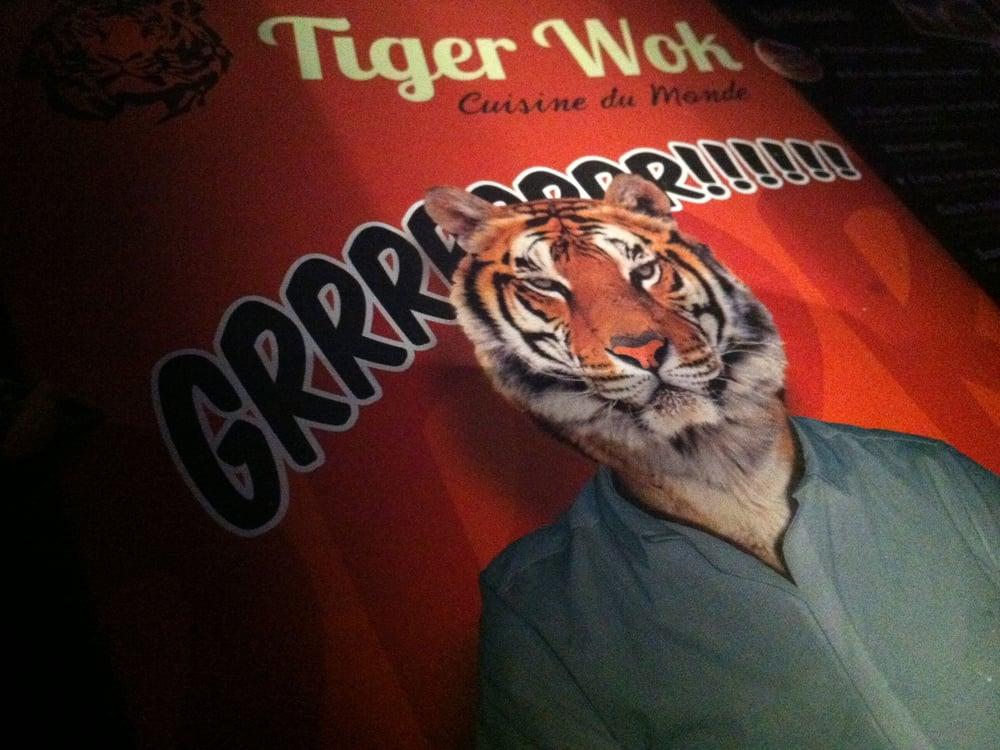 tiger wok 18 photos 74 avis restaurant asiatique 8 rue challemel lacour gerland lyon. Black Bedroom Furniture Sets. Home Design Ideas