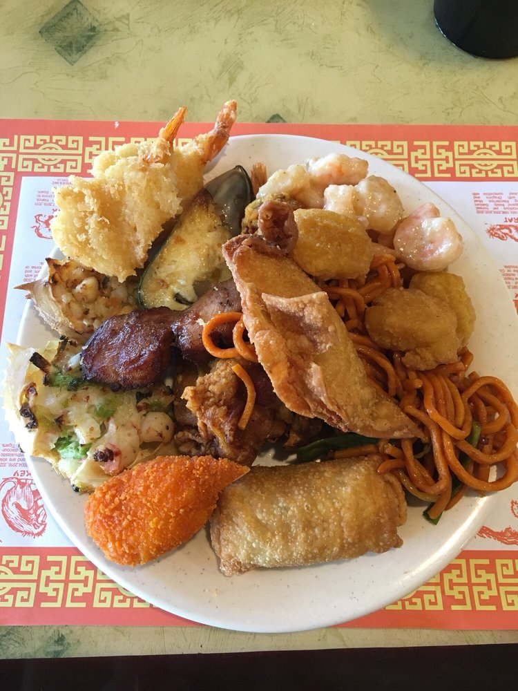 Food from Empire Buffet