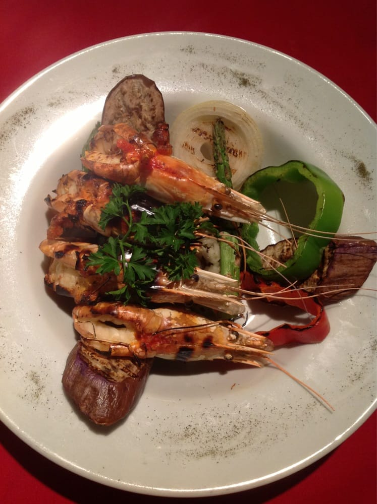 Grilled tequila prawn yelp for At siam thai cuisine