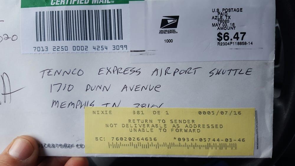 Tennco Express Airport Shuttle