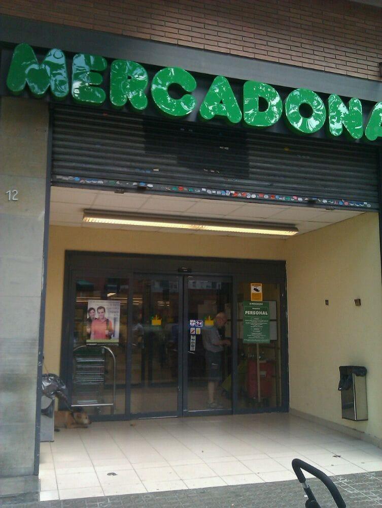 Mercadona supermarket calle sant pere d 39 abanto 4 12 for Oficinas mercadona barcelona