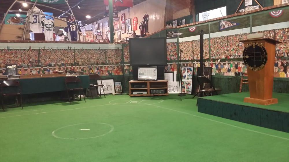 Oklahoma Sports Museum: 315 W Oklahoma Ave, Guthrie, OK