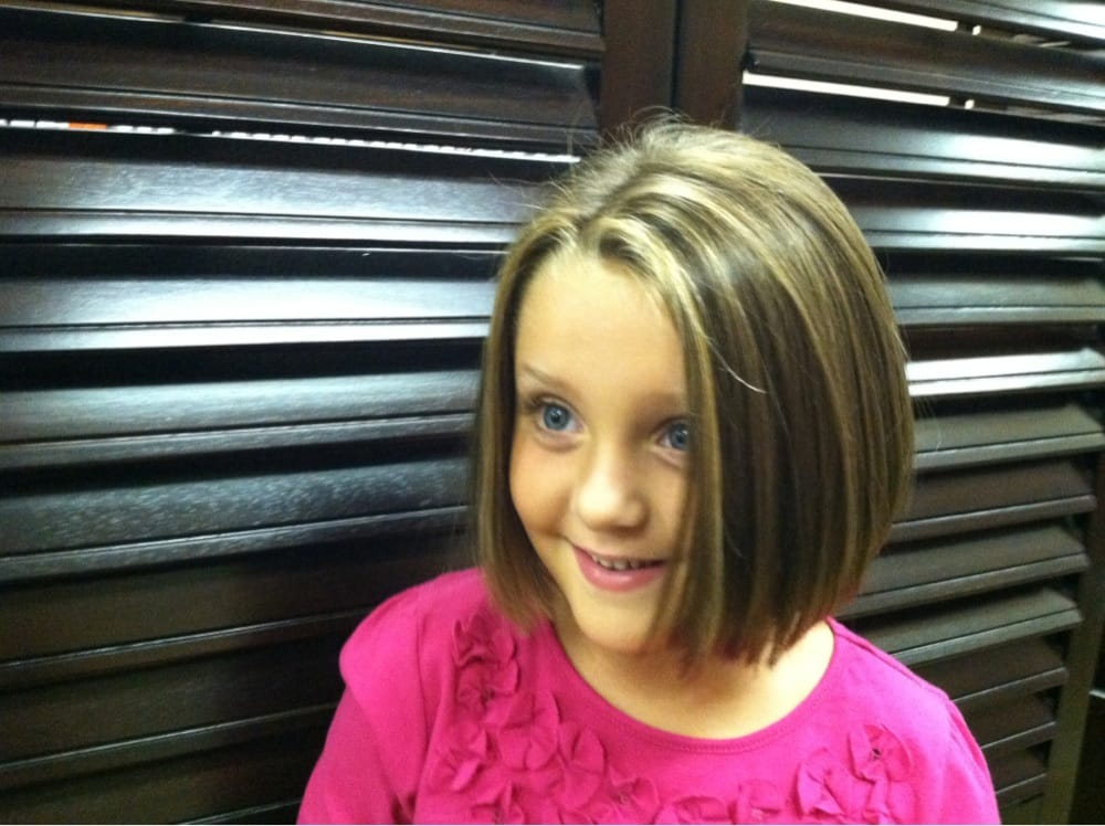 One Of My Favorite Little Girls Lauren With Her New Haircut And A