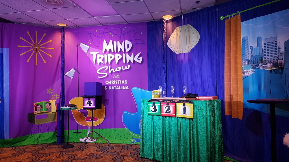 Mind Tripping Show: 120 W Market St, Indianapolis, IN