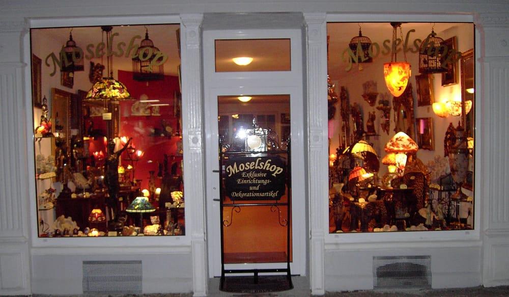 Moselshop Bernkastel Geschenke Lampen Antik Art Deco