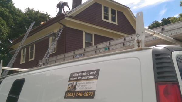 Photo Of Able Roofing   Ridgefield, CT, United States. Roofing Contractor  Redding