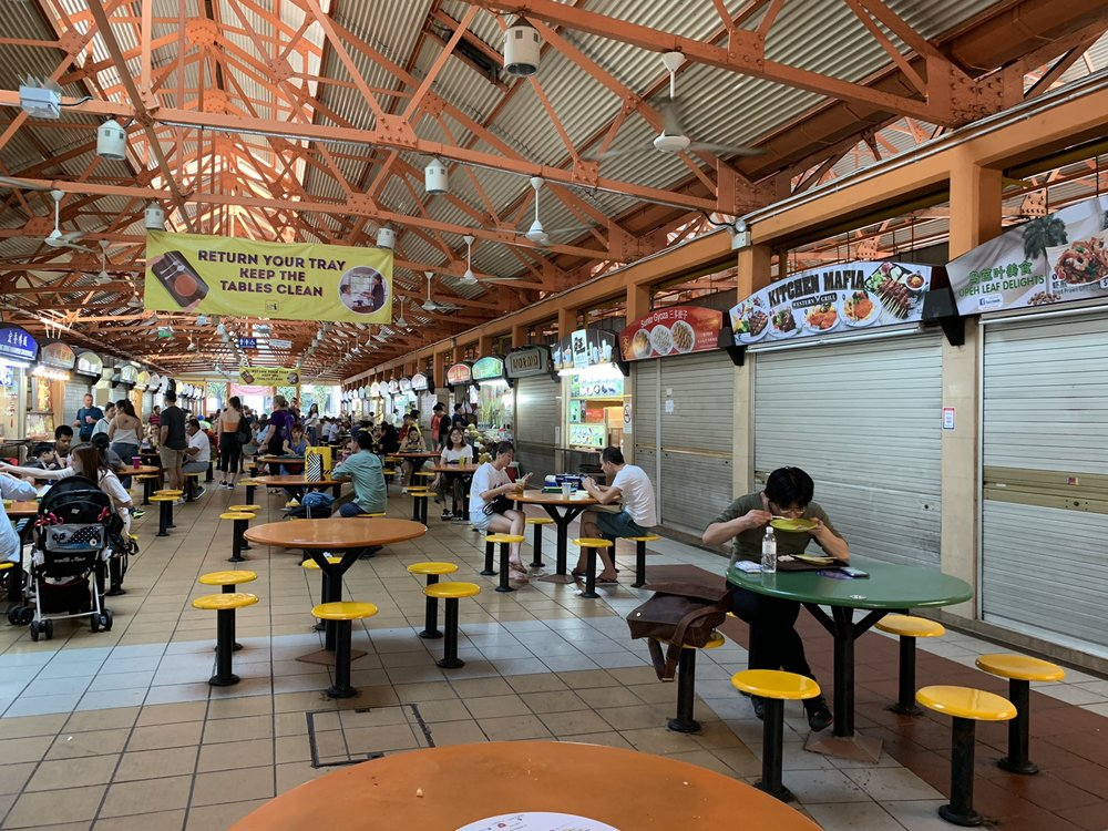 Maxwell Food Centre Singapore
