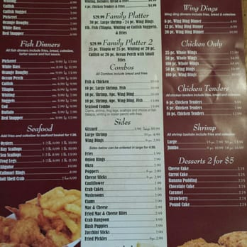 Moe s fish chicken 10 photos fish chips 1547 for Fish and chicken menu