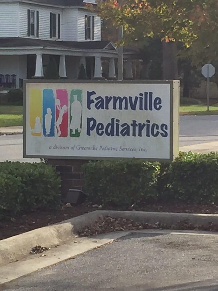 Farmville Pediatrics: 3444 South Contentnea St, Farmville, NC