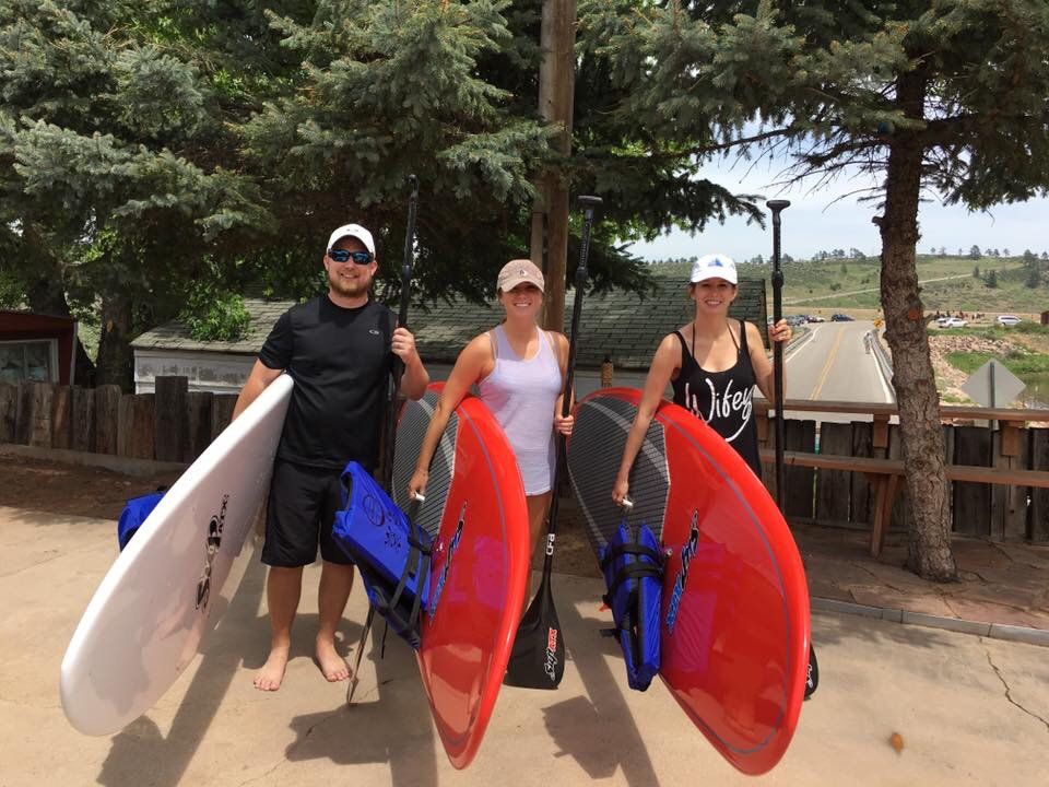 Paddle Board At The Comedy Overlook: 1020 Santanka Trl, Bellvue, CO
