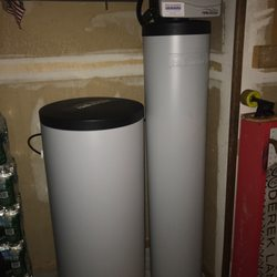 install water softener in crawl space