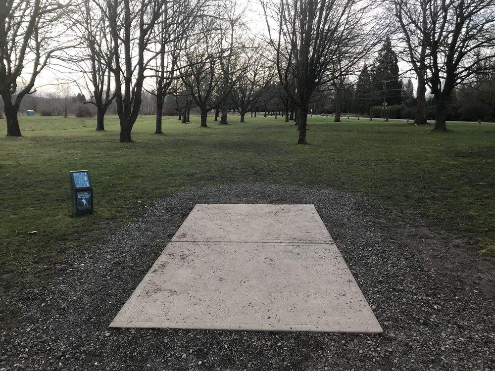 Blue Lake Disc Golf Course