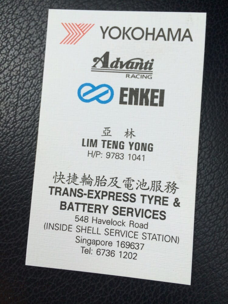 Trans-Express Tyre & Battery Services Singapore