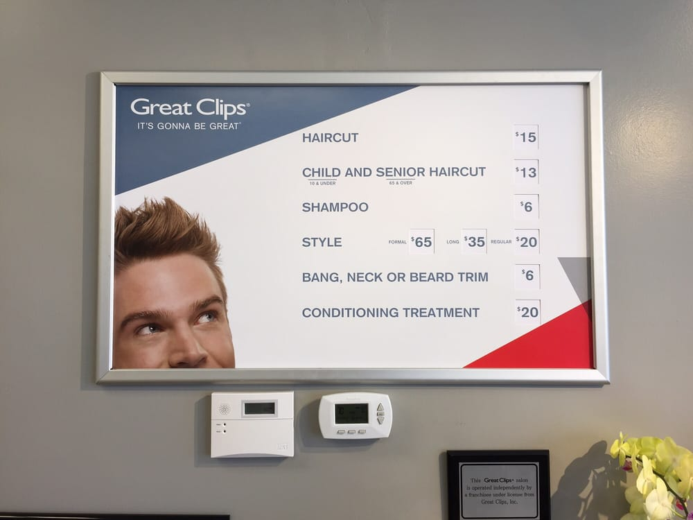 Great Clips Is A Select Service Salon With Al La Carte Pricing To