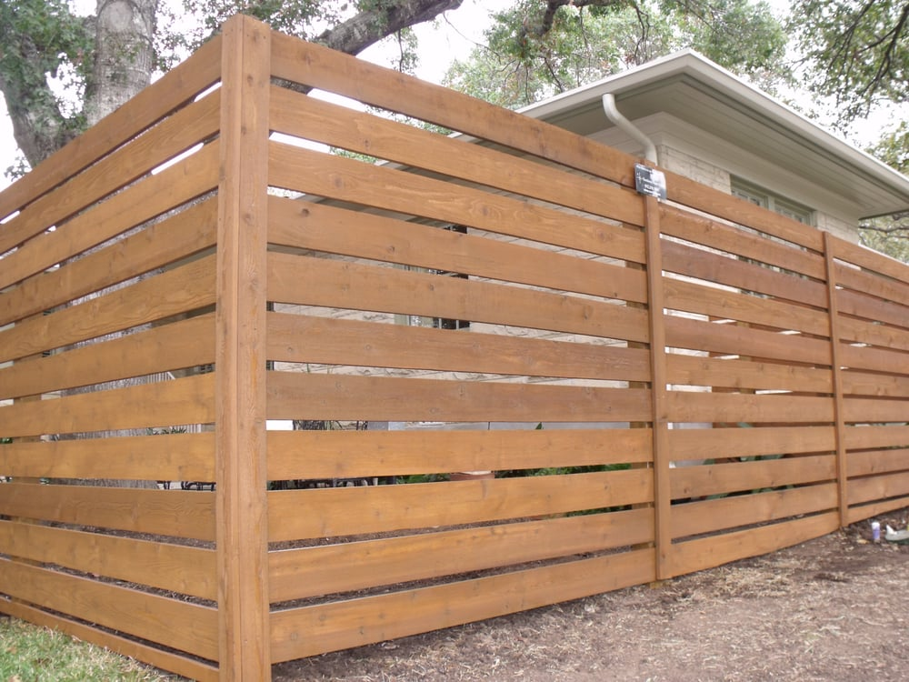 Photo Of Great Dane Fence Staining Cedar Park Tx United States Cabot